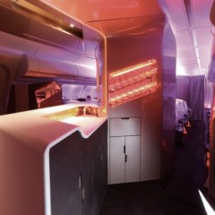 Beauty in Bars – Upper Class Dream Suite Bar, Virgin Atlantic