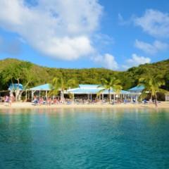 Fire Burns Down Pirates Bight on Norman Island, British Virgin Islands