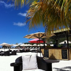 Photo of the Day – Beach Bar at the Buccament Bay Resort, St. Vincent