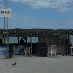 Mexico Beach Bars:  Raices Beach Bar, Isla Holbox