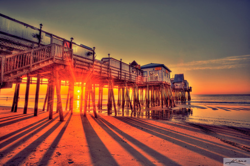 pier-old-orchard-beach-sunrise
