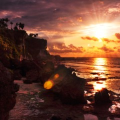 Sunsets at Rock Bar, Ayana Resort and Spa, Bali