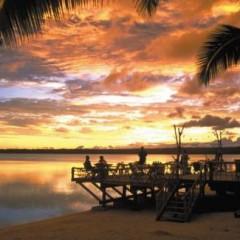 Cook Islands Beach Bars – The Flying Boat Beach Bar and Grill, Aitutaki