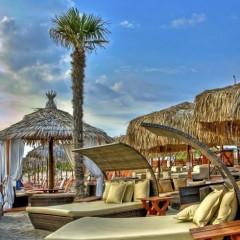 Beach Bars in HDR – Kozi Beach Bar, Greece