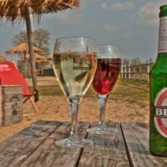 Beach Bars in HDR – Strandbar, Wittenberg, Germany