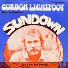 """Tuesday Tunes:  Gordon Lightfoot, """"Sundown"""""""