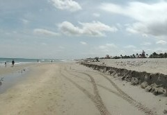 Erosion at Delray Beach – A Panorama