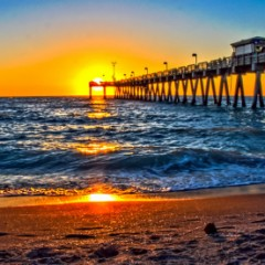 Photo of the Day – Sunset from Sharky's on the Pier, Venice, Florida