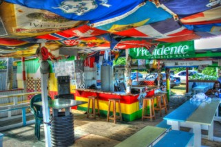 Two and a Half Minutes at Lion Rock Beach Bar, St. Kitts