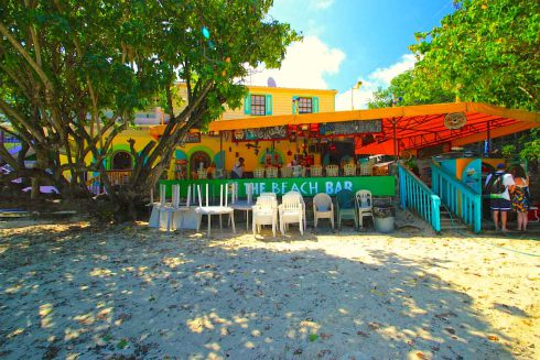 The Beach Bar, Cruz Bay, St John, USVI