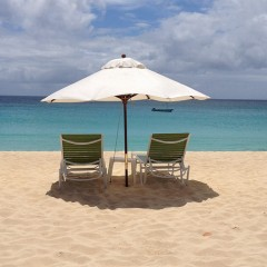 Anguilla Beach Bars:  Blanchard's Beach Shack, Meads Bay