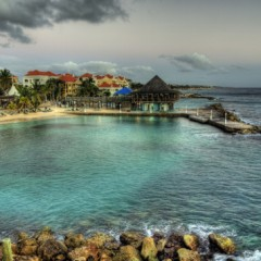 Beach Bars in HDR: Avila Blues Bar, Curacao