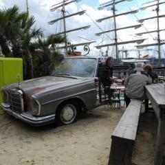 Beach Bar Crawling on the Elbe in Hamburg, Germany