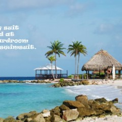 The Boardroom Beach Bar at the Curacao Marriott – No Suits Required