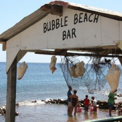 Photo of the Day – Bubble Beach Bar, Dominica