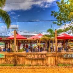 Beach Bars in HDR: Porky's Bayside, Marathon, Florida
