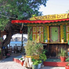 Photo of the Day:  Cocktail Bar, Skala Eressou, Lesbos Island, Greece
