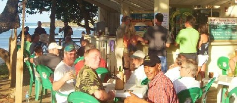 Four and a Half Minutes at Big Lee's Beach Bar in Puerto Plata, Dominican Republic
