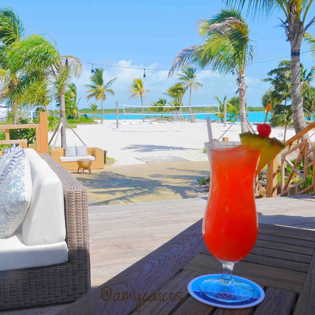 Beach bar at Blue Haven, Provo, Turks and Caicos Islands. Credit http://instagram.com/amycaicos