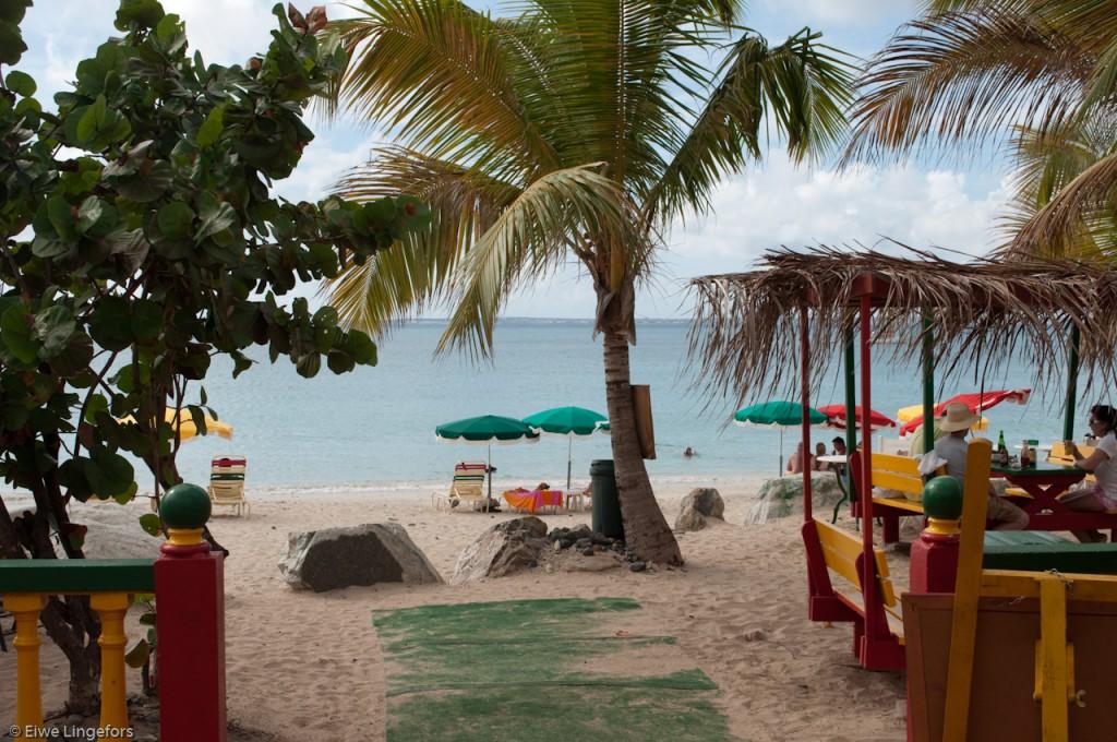 Kali's Beach Bar, St. Martin, Credit Eiwe Lingefors
