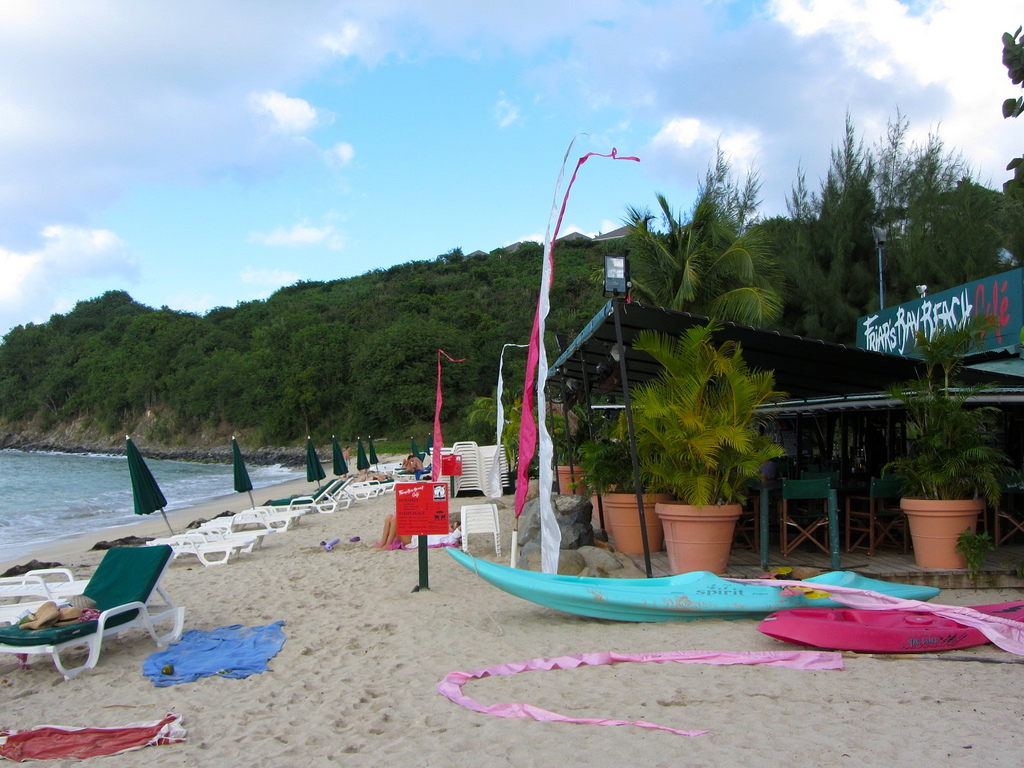 Friar's Bay Beach Cafe, St. Martin, Credit Richie Diesterheft