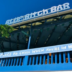 St. Maarten's Blue Bitch Bar – It's Not What You Think