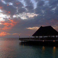 Sundown at Sundowners, Bandos, Maldives