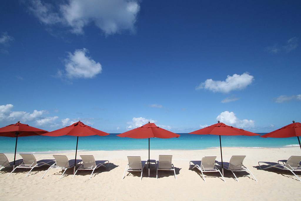 Straw Hat, Frangipani Beach Resort, Meads Bay, Anguilla. Credit zemibeach.com