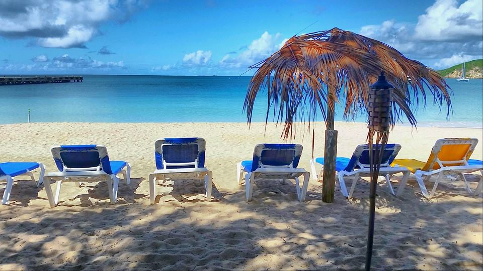 View from Roy's Bayside Grill, Sandy Ground, Anguilla