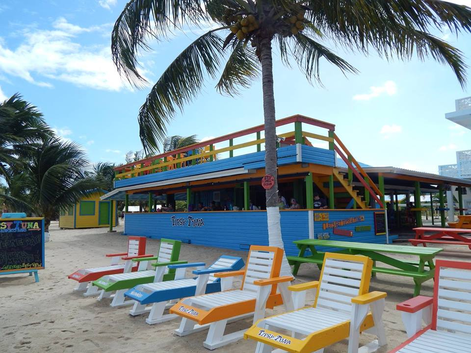 Tipsy Tuna, Placencia, Belize. Photo credit Gillian Eyles Zabaneh
