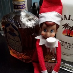 Elf on a Shelf Lets Loose … And I Mean Really Loose