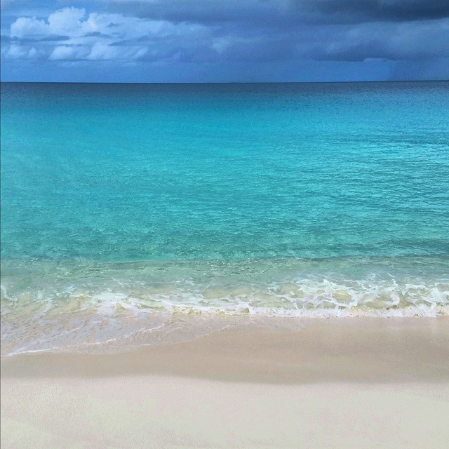 The colors of Anguilla's beaches
