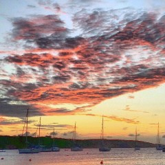 Sights and Sounds of an Anguilla Sunset