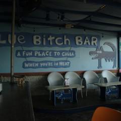Finding the Blue Bitch (Bar) in St. Maarten