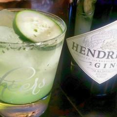 Gittin' My Drank On – Cucumber and Lime Gin Fizz