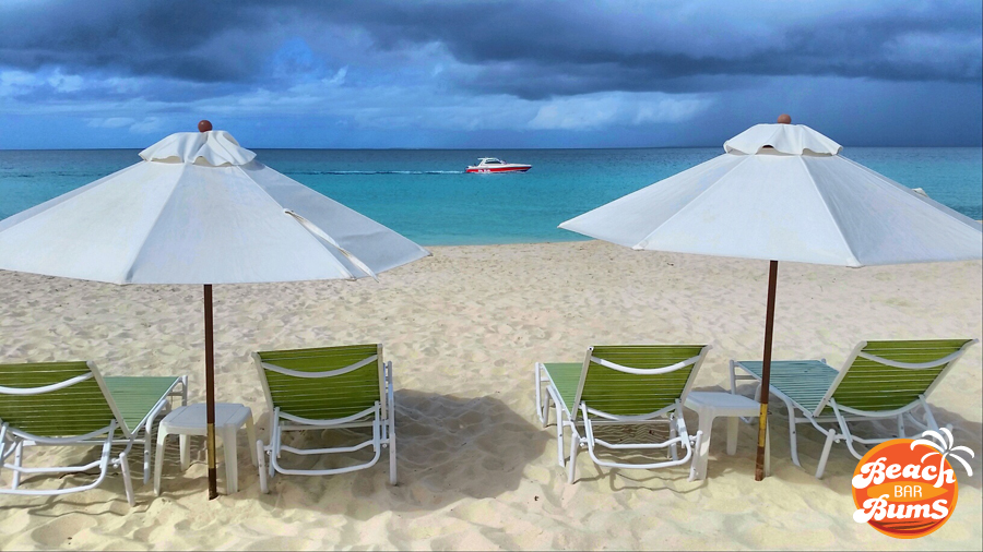 View from Blanchard's Beach Shack, Meads Bay, Anguilla.