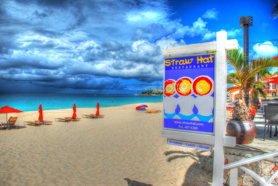 Straw Hat Restaurant, Meads Bay, Anguilla