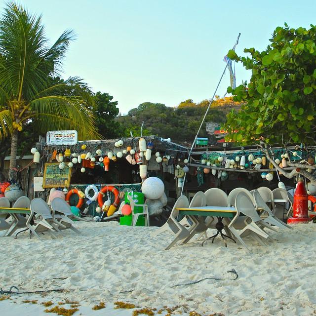 One Love Bar, Jost Van Dyke, British Virgin islands. Photo credit https://instagram.com/noellenotnoel