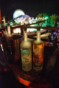 Blue Water Rum at Moonsplash, Anguilla.