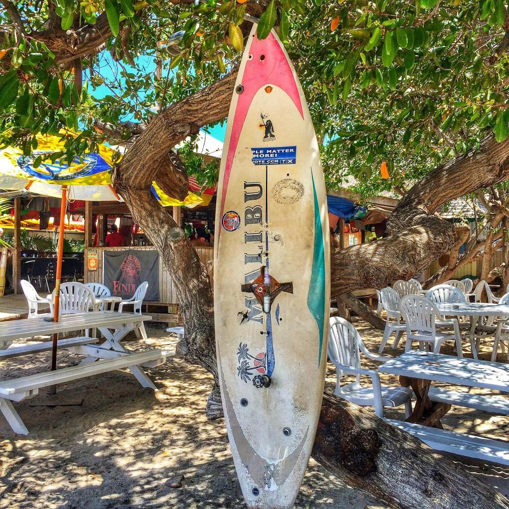 Reggae Beach Bar, St. Kitts. Photo by Robyn Folmar.