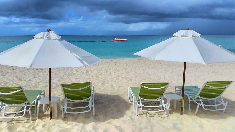 The view from Blanchards Beach Shack, Meads Bay ,Anguilla