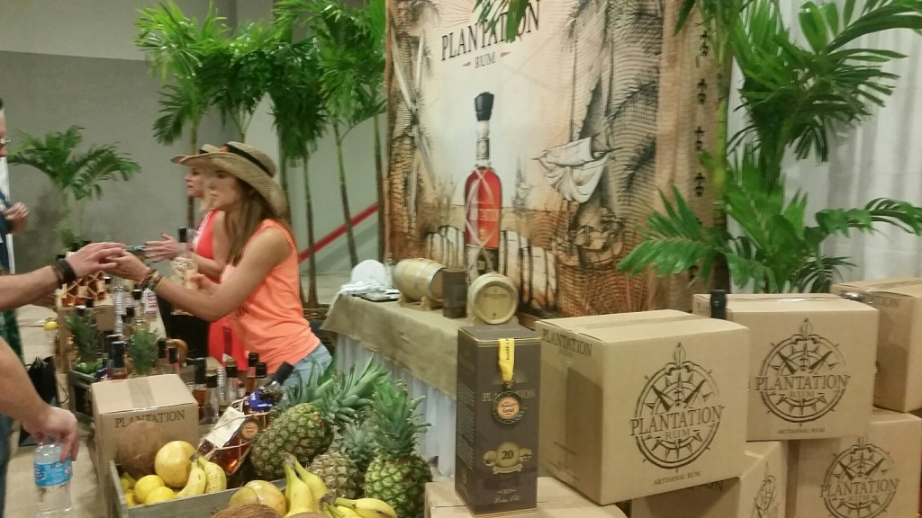 Plantation Rums at Miami Rum Fest.