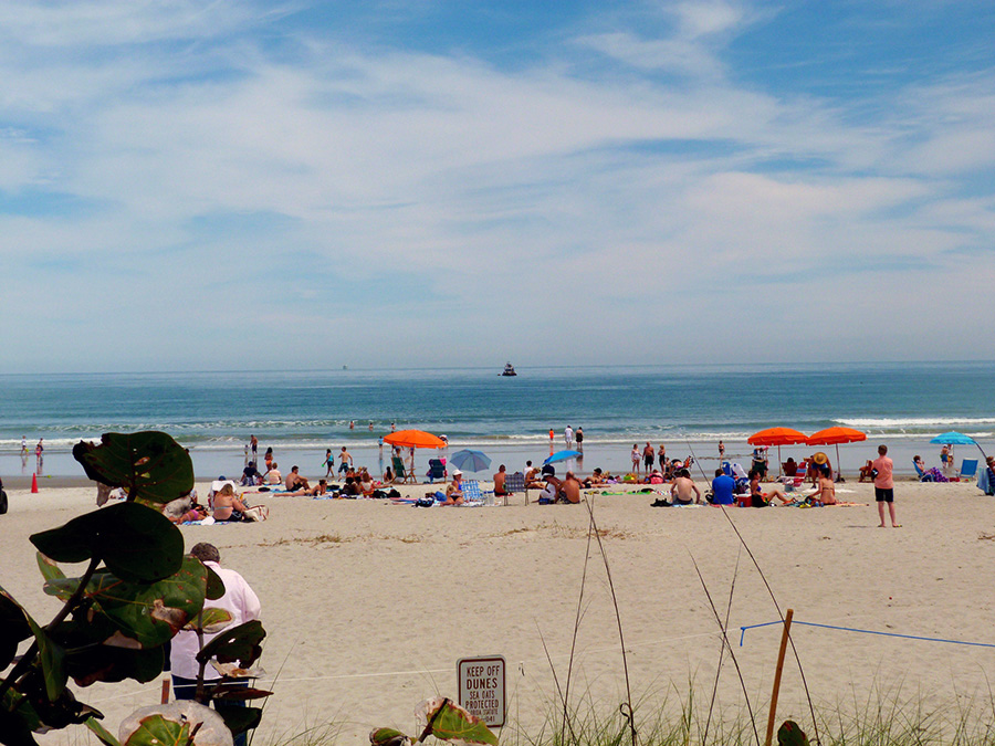View from Coconuts on the Beach ,Cocoa Beach, Florida. Photo by flickr user rusty_clark