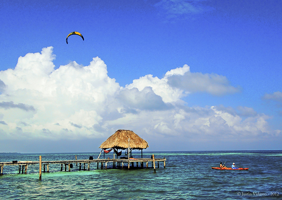 Waters off Caye Caulker, Belize. Photo by Justin Vldamo.