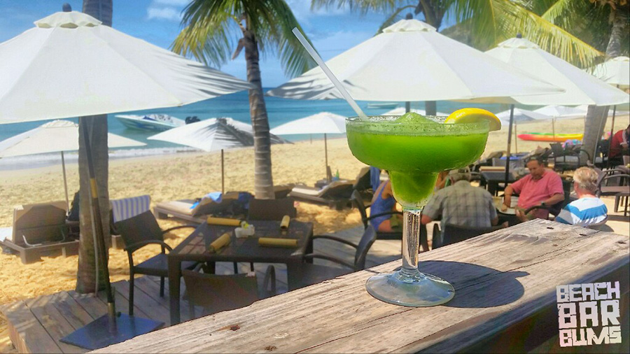 Frozen mojito at da'Vida, Anguilla.  It was as yummy as it looks.
