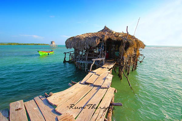 Floyd's Pelican Bar Jamaica. Photo by Rum Therapy