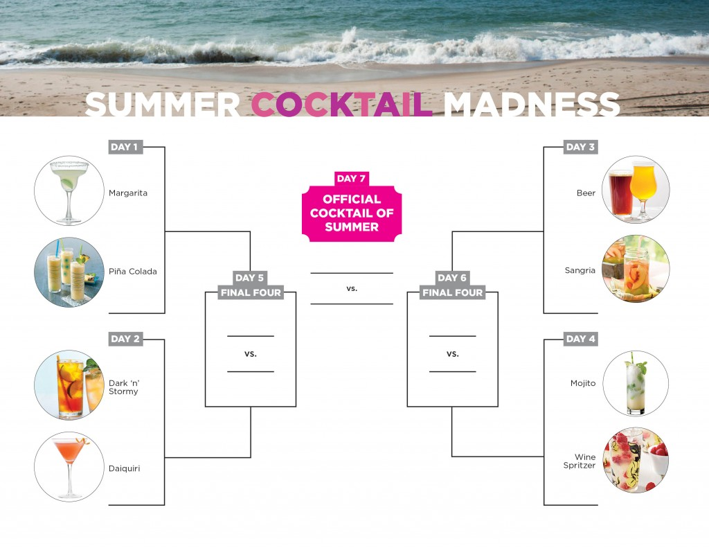 2015 Summer Cocktail Bracket