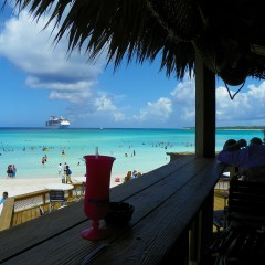 Friday Flickr Find – Beach Bar At Half Moon Cay, Bahamas