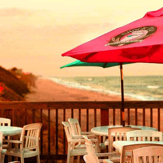 View from the Floridana Beach Bar by Instagram user beachesbarsandbungalows