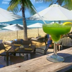 "First Annual ""Drinks at the Beach"" Photo Contest Launched With Flip Flops and Palms"